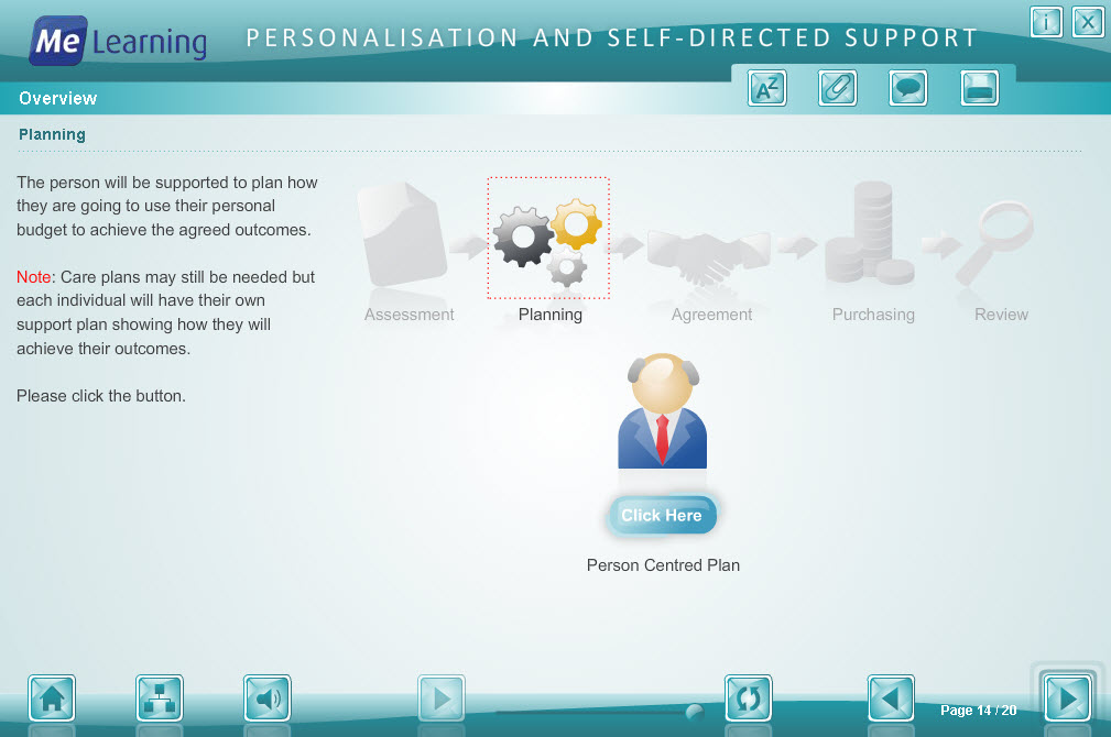 Personalisation and Self Directed Support Course Slide 14 of 20