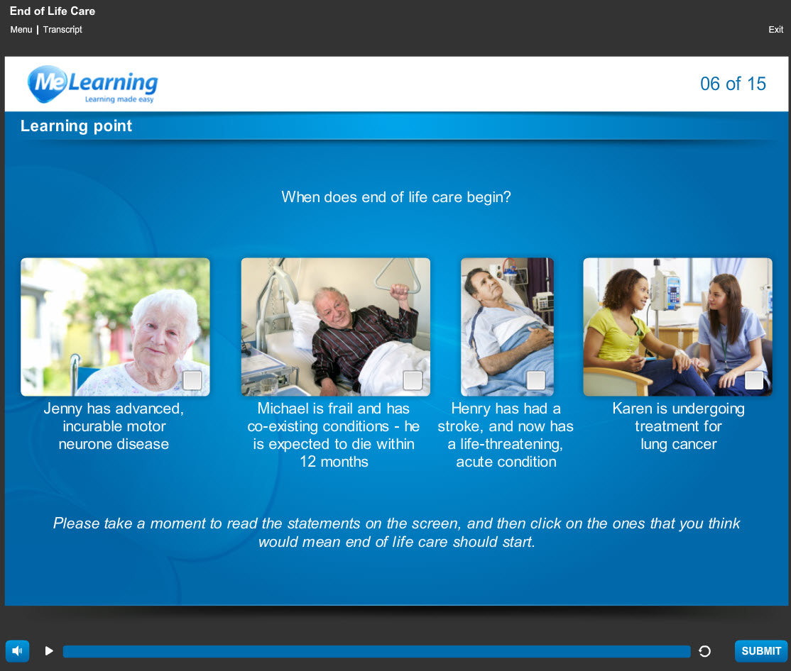 Palliative Care and End of Life Care Course Slides 6 of 15