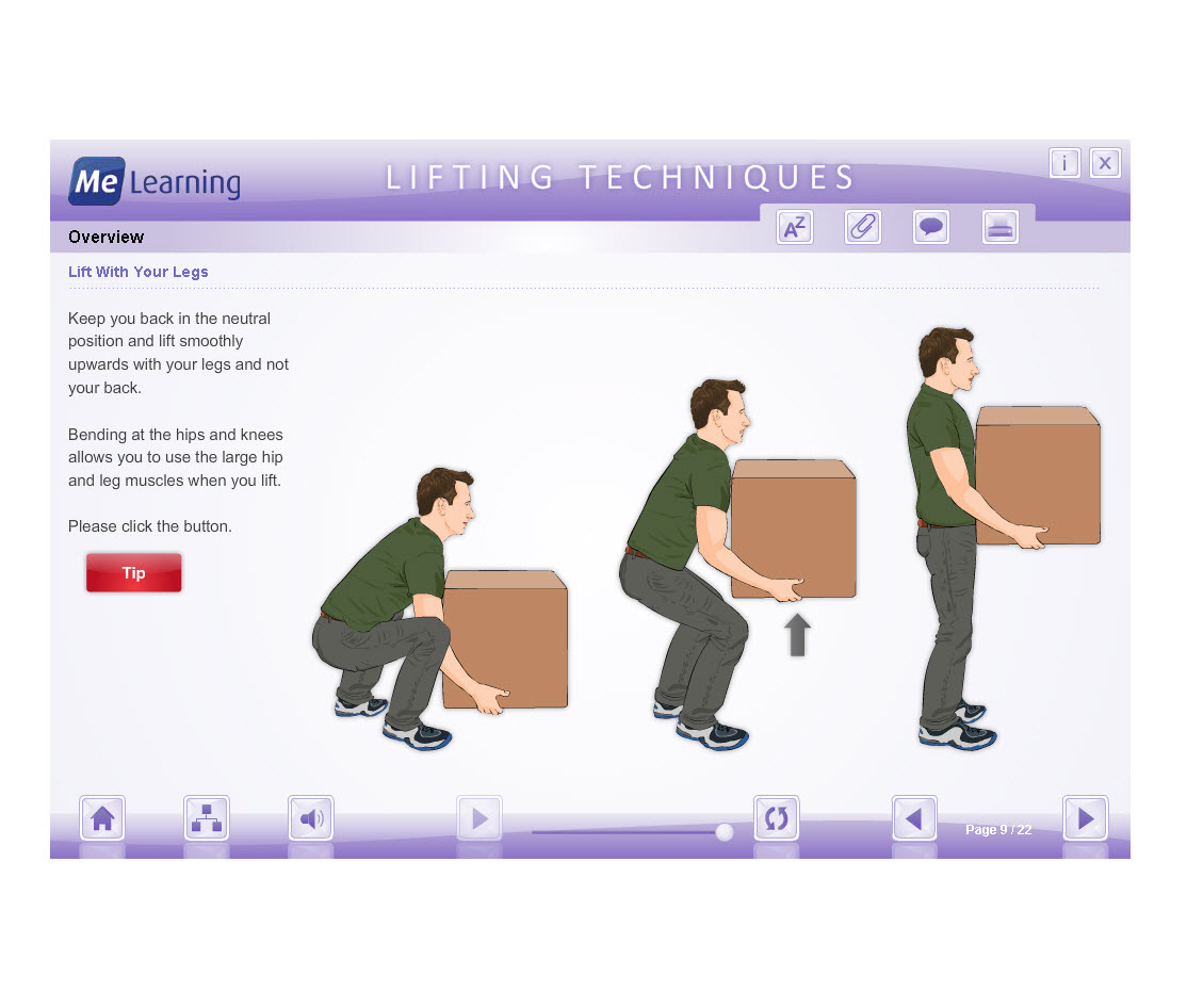 Manual Handling - Health, Education and Social Care Course Overview