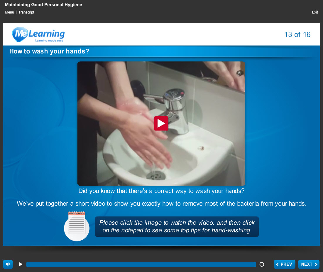 Food Safety and Hygiene Level 2 Course Slide 13 of 16