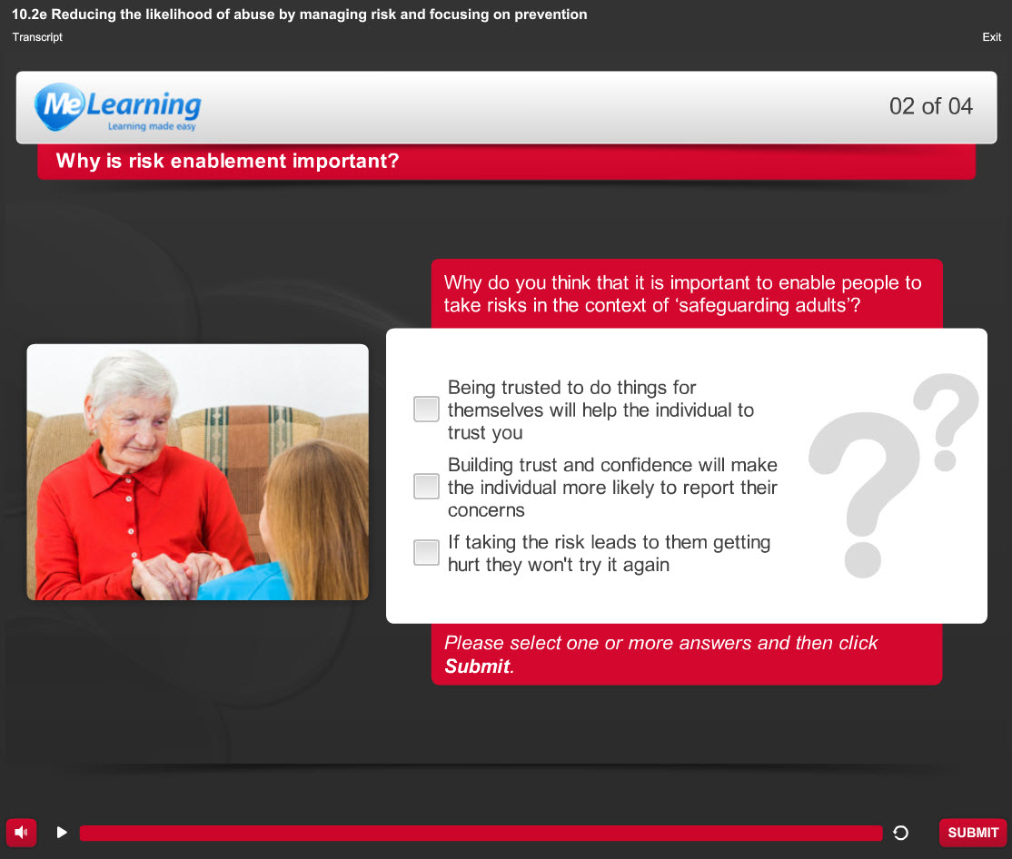 Safeguarding Adults (Awareness) - for Health and Social Care Course Slide 2 of 4