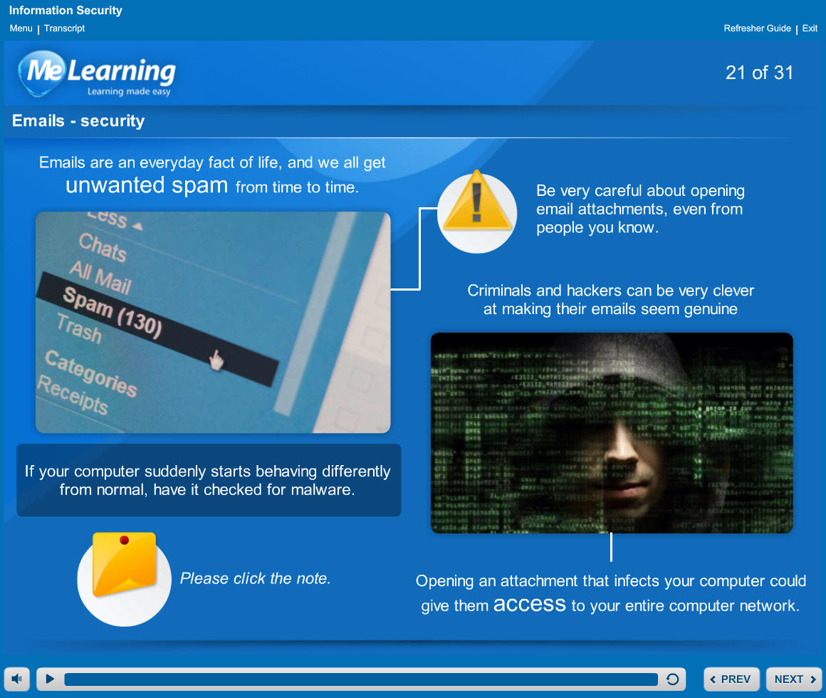 Information security course slides 21 of 31