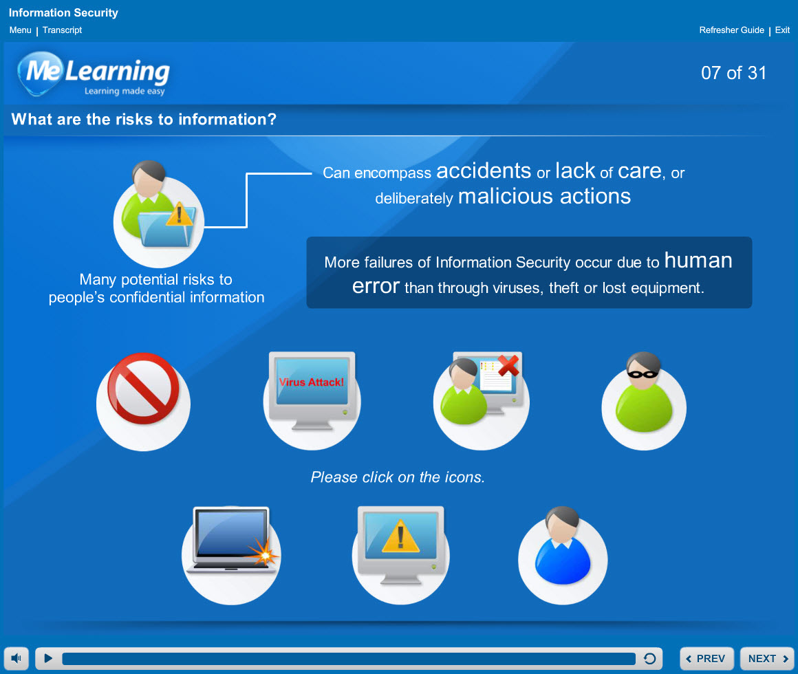 Information security course slides 7 of 31