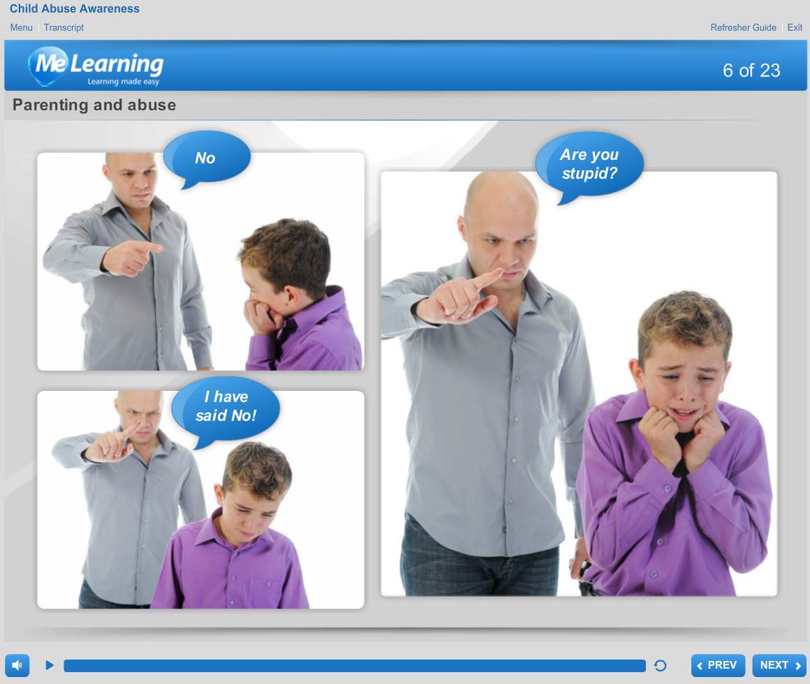 Safeguarding Children Level 1 Course Slide 6 of 23