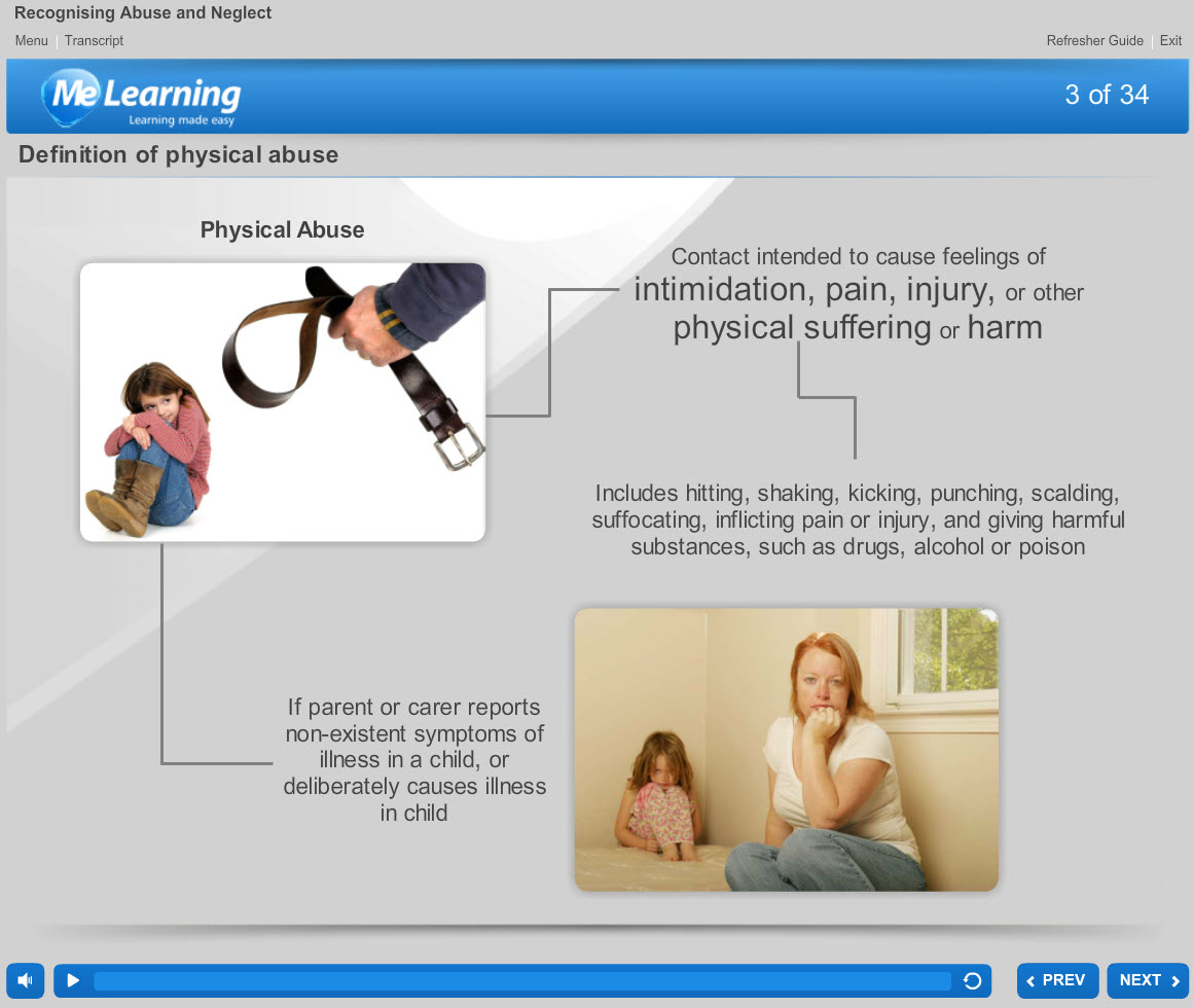 Safeguarding Children Level 1 Course Slide 3 of 34