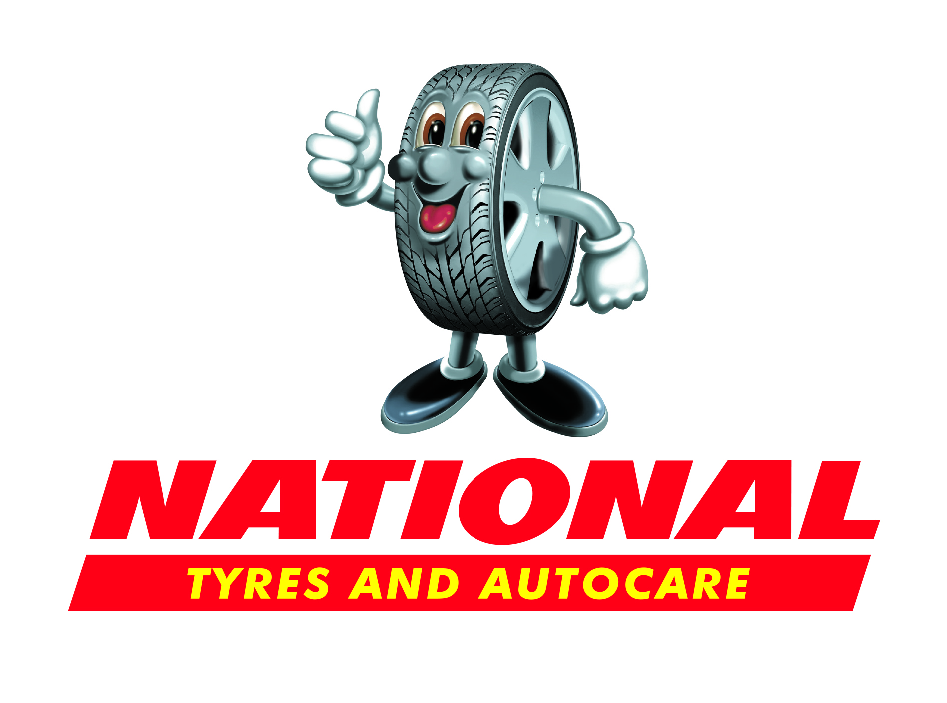 National Tyres logo on white background