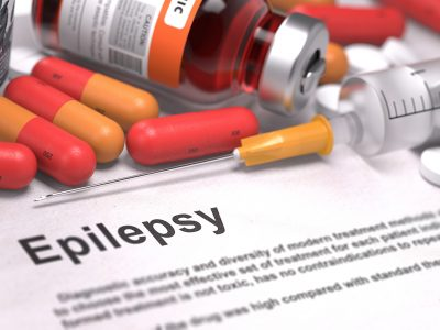 Pills, syringes and medicine for managing epilepsy