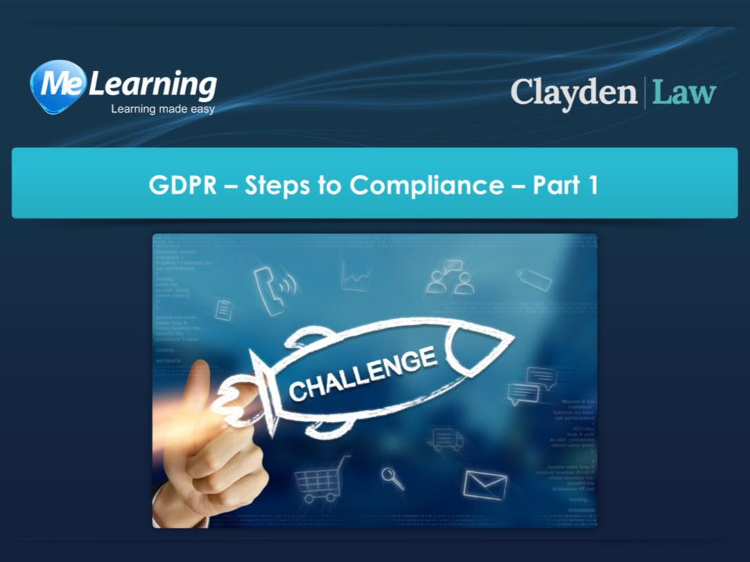 General Data Protection Regulation Gdpr Board Training