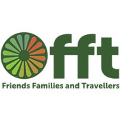 Friends Families and Travellers logo