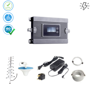 Mobile Signal Booster 4G LTE – 600 sq. m. (Power Line)