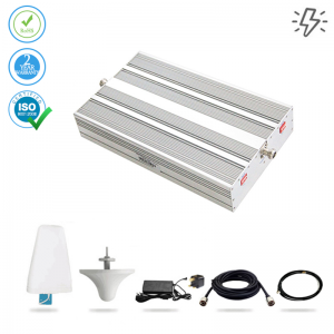 Mobile Signal Booster Voice and 4G LTE – 1000 sq.m. (Power Line)