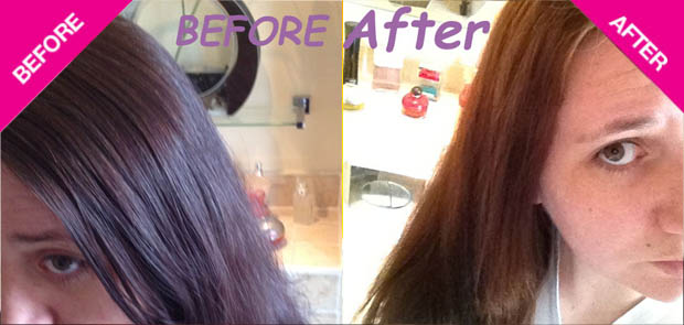 Colour B4 Extra Strength Review before and after photos
