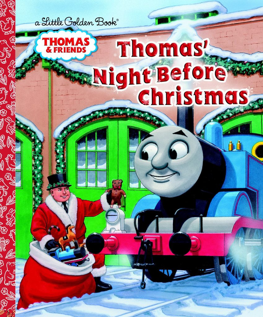 Thomas' Night Before Christmas book - Thomas & friends