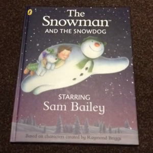 Personalised The Snowman and the SnowDog