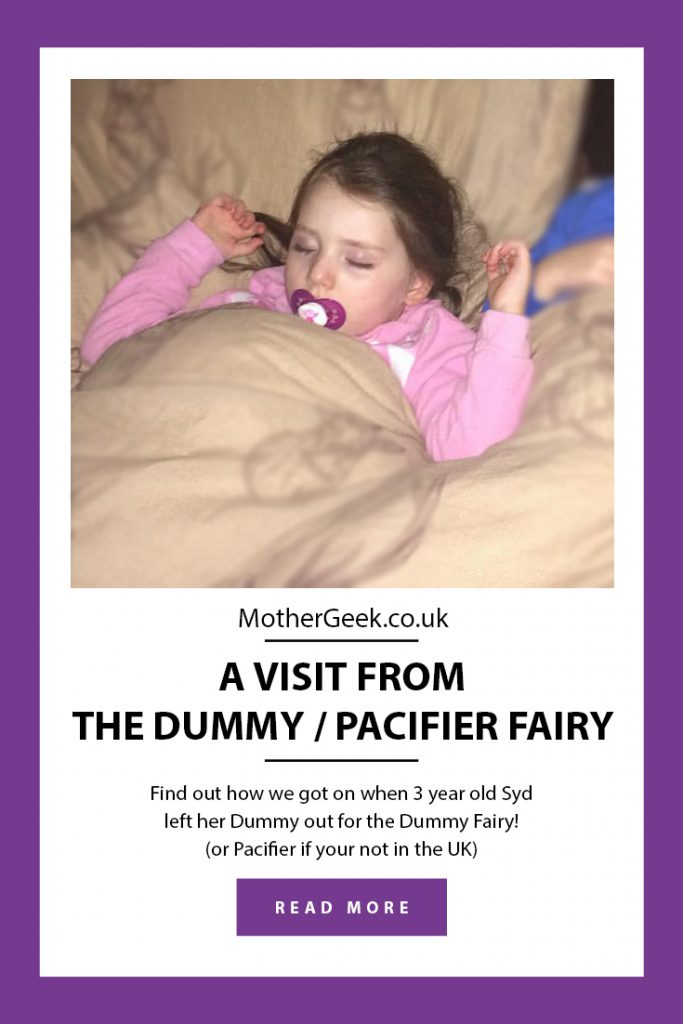 Dummy Fairy or Pacifier Fairy