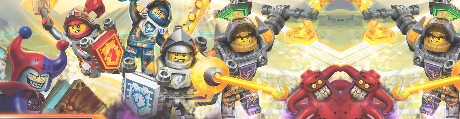 Lego Nexo Knights 4D: The Book of Creativity