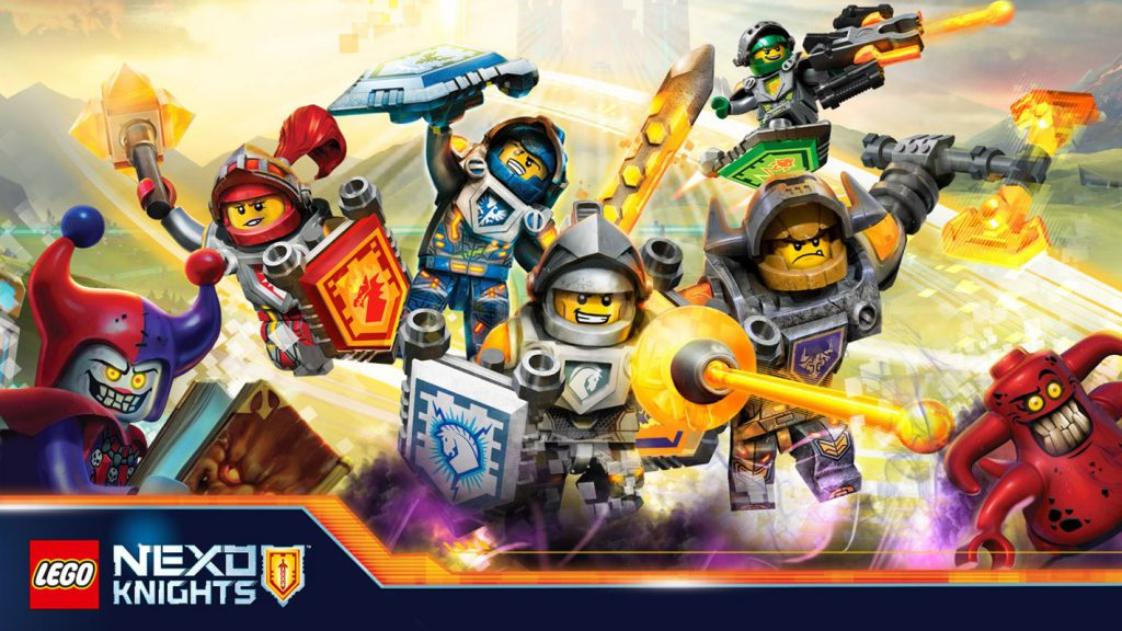 Lego Nexo Knights 4D: The Book of Creativity ad