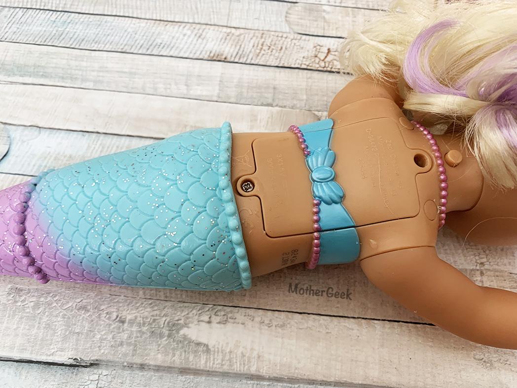 baby born mermaid
