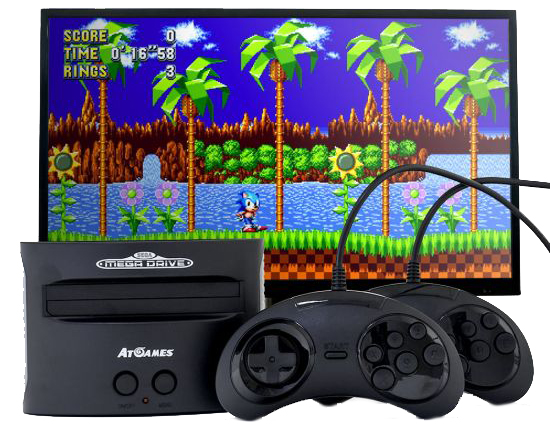 Sega Mega Drive Classic - unboxed