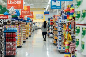 Supermarket aisles - corner shop vs supermarket