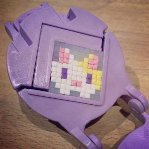 Finished bunny - Deluxe Pretty Pixels Eraser Maker
