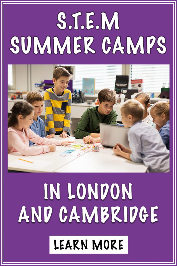 stem summer camps in London & Cambridge