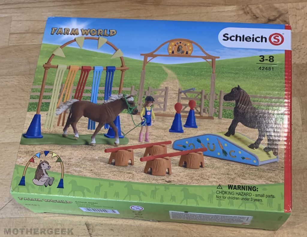 Schleich Pony Agility Training set BOX