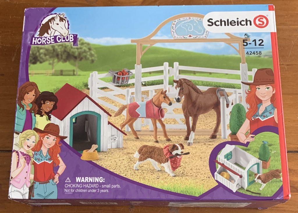 Schleich Horse Club Hannah's guest horses set box