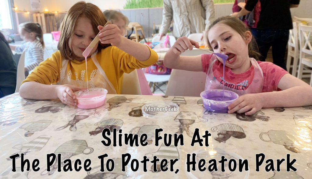 Gloopy stage - Slime Making at The Place To Potter