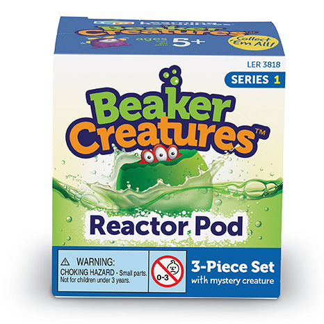Beaker Creatures Extra Reactor Pods packaging