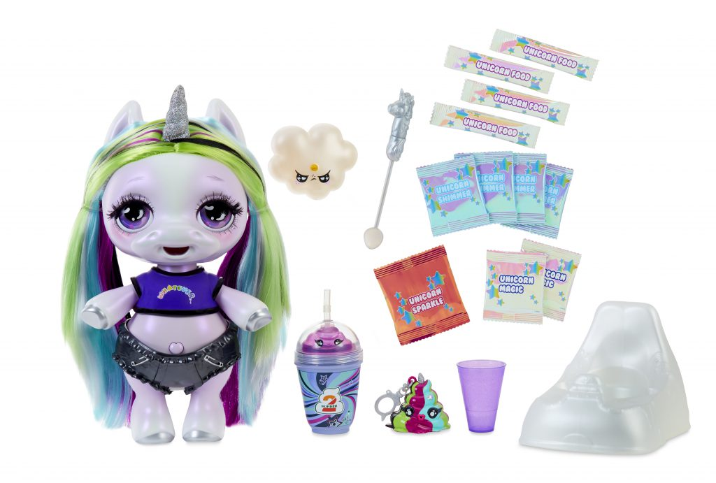 typical contents of Poopsie Surprise Unicorn