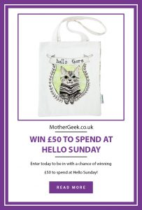 pinterest pin for hello Sunday giveaway