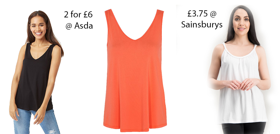3x women vest tops - my summer style