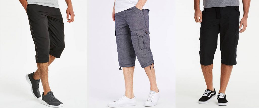 Summer Fashion For Dads = 3 pairs of 3/4 length shorts