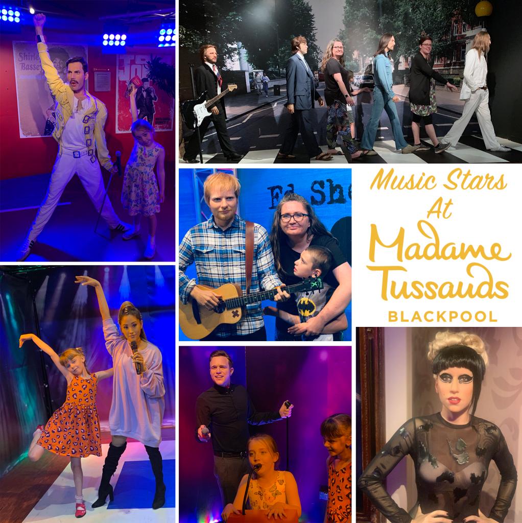 Music Stars at Madame Tussauds Blackpool