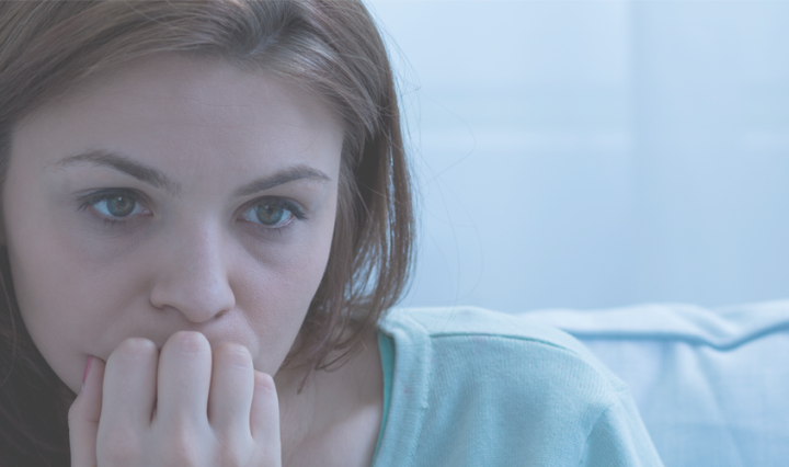Woman feeling Guilt after grief