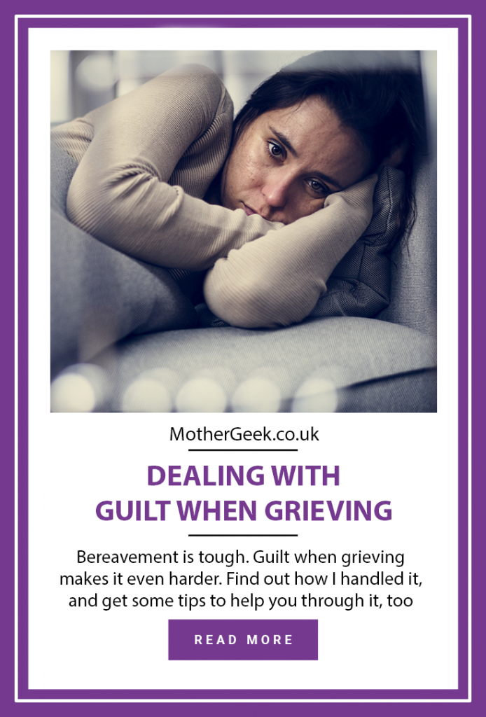Guilt When Grieving Pinterest pin
