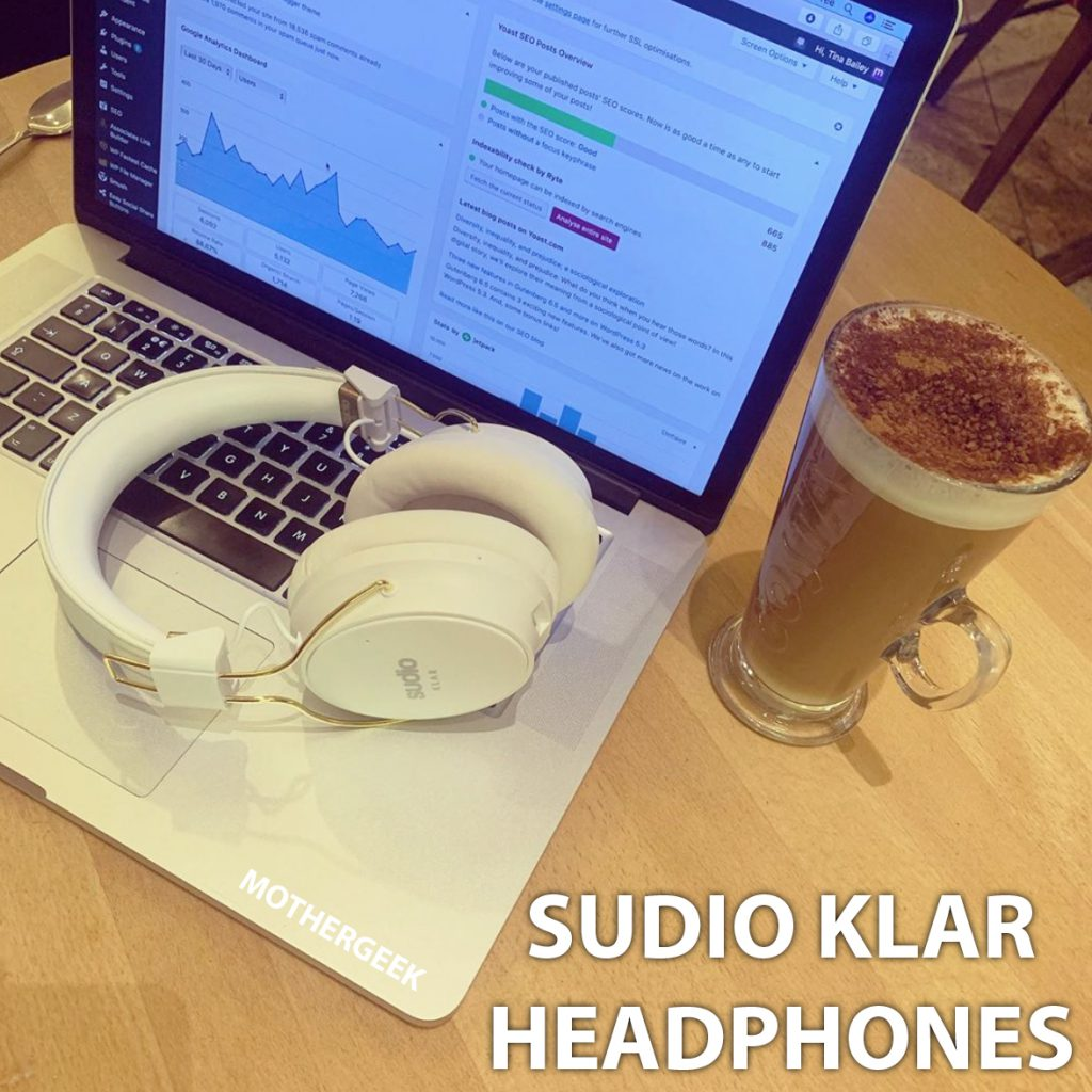 flatly featuring Sudio Klar Bluetooth Headphones, MacBook Air and coffee - Review
