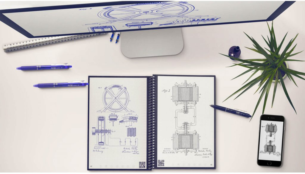 gift ideas for gadget lovers - reusable notebook