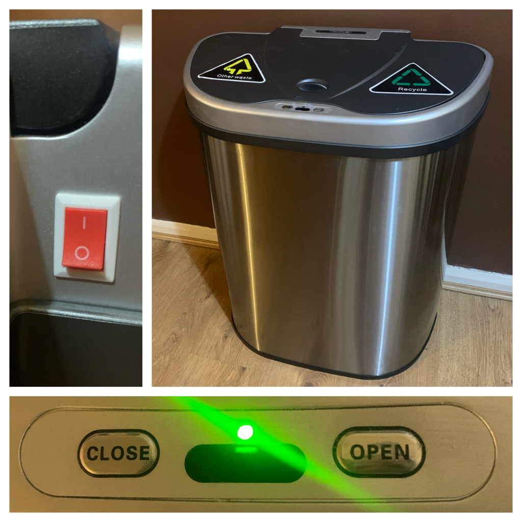 VonHaus 70 litre sensor recycling bin review