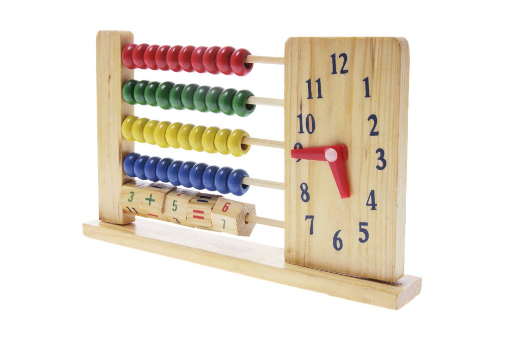 helping your child learn to tell the time with a toy clock