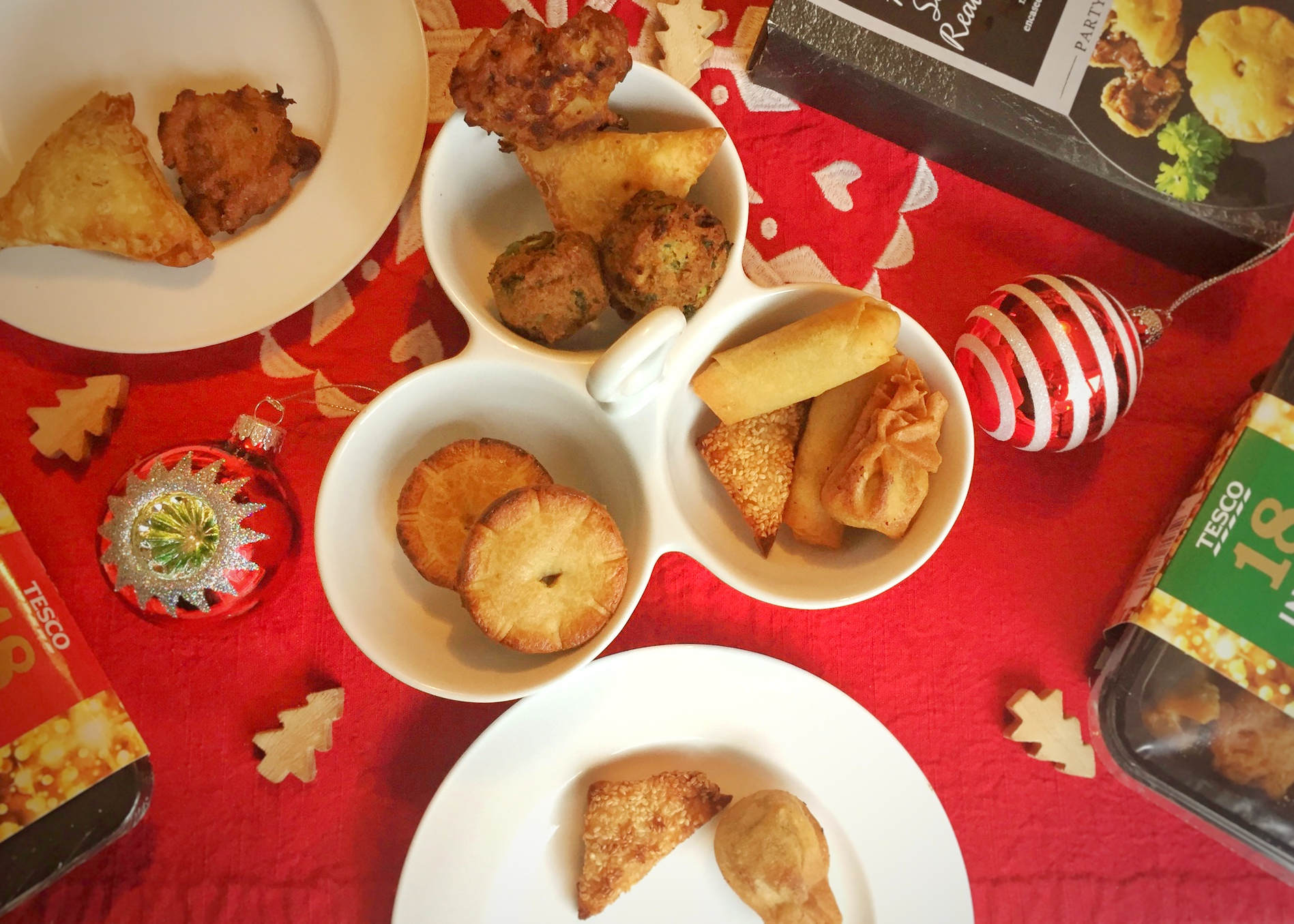 Tesco Orchard Christmas Party Food My Daily Obsessions