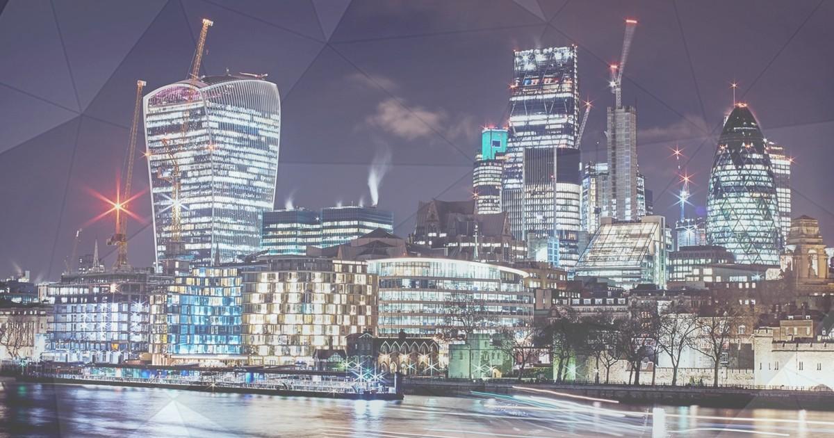 Cityscape of trading landscape