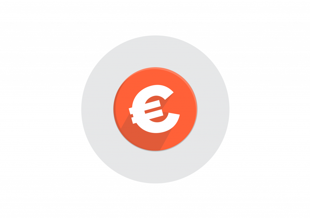 This is an example of the Euro currency symbol