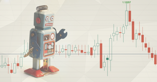 A Forex Robot Controlling the Candlestick Chart