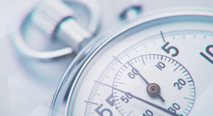 silver stopwatch that keeps on ticking for a trader