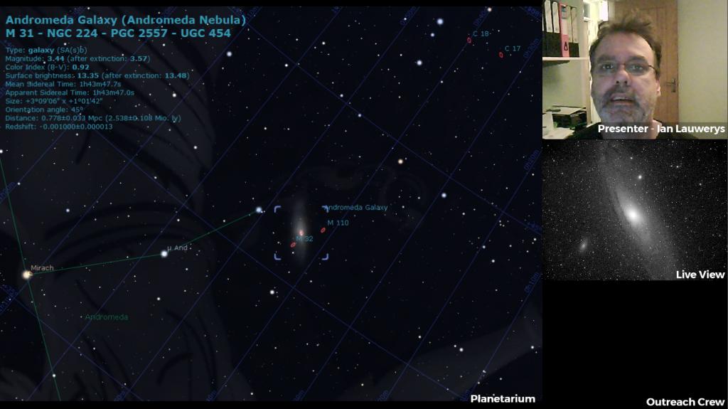 Live Astronomy Planetarium