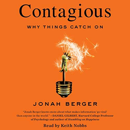 Digital Marketing Books Contagious