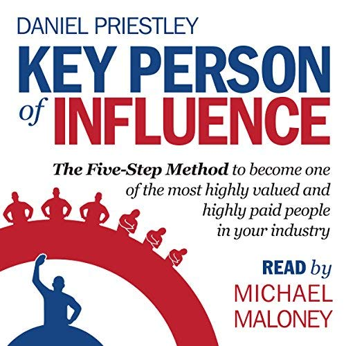 Digital Marketing Books Key Person of Influence Daniel Priestley