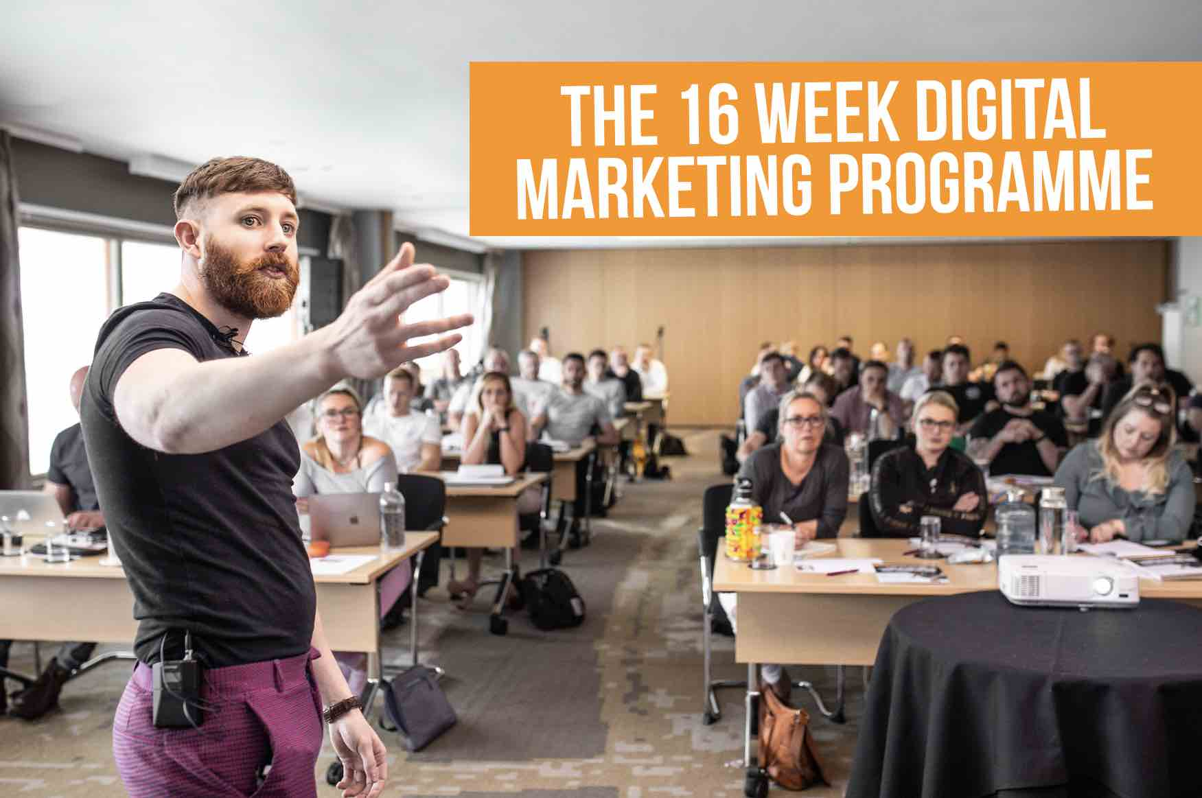 Neil Shoney 16 Week Digital Marketing Programme
